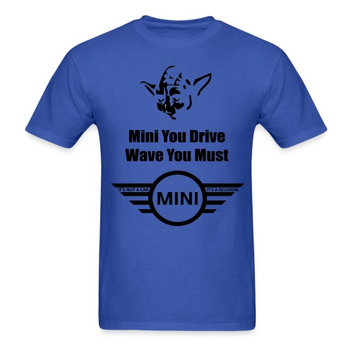 Wave You Must - Men's T-Shirt