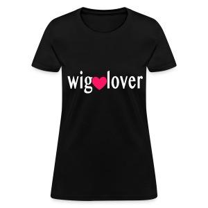 WIG LOVER TEE - WHT - Women's T-Shirt