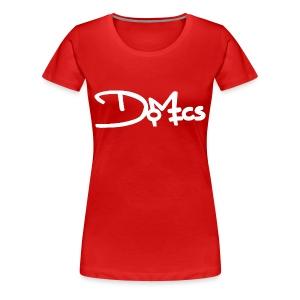 Women's Premium Domics Logo Tee - Inverted - Women's Premium T-Shirt