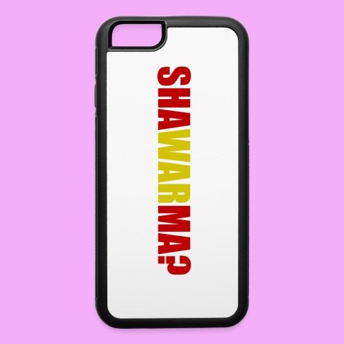 Shawarma? Phone Case - iPhone 6/6s Rubber Case