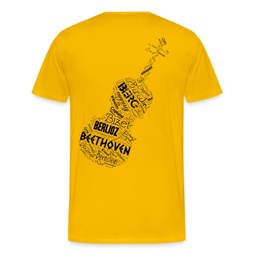 String Cloud - Men's Premium T-Shirt