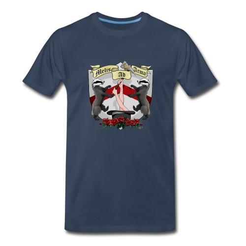 Melis Ad Arma - Men's Premium T-Shirt - Men's Premium T-Shirt