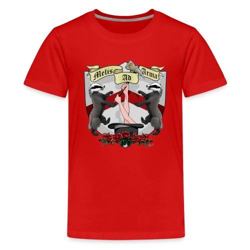Melis Ad Arma - Kid's Premium Top - Kids' Premium T-Shirt