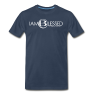 T-Shirts ~ Men's Premium T-Shirt ~ IAmBlessed-Mens-st