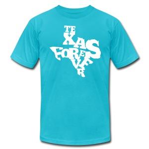 Texas Forever (American Apparel) - Men's Fine Jersey T-Shirt