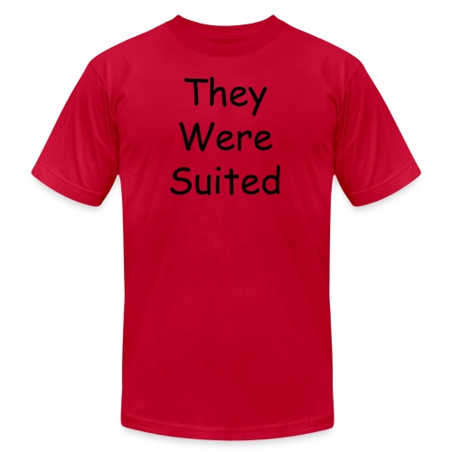 Men's - They Were Suited T-Shirt - Men's Fine Jersey T-Shirt