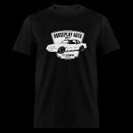 T-Shirts ~ Men's T-Shirt ~ Horseplay Auto : Shield