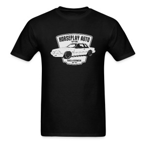 Horseplay Auto : Shield - Men's T-Shirt