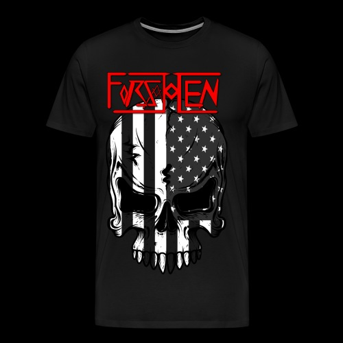 Forsakken Metal Patriot - Men's Premium T-Shirt