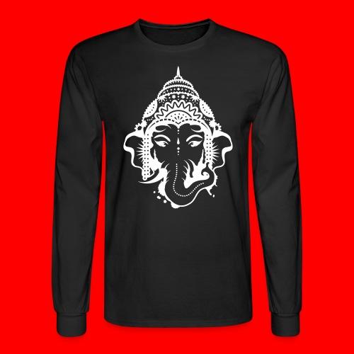 Face Of Ganesh - Men's Long Sleeve T-Shirt