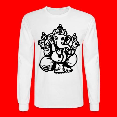 Lord Ganesha - Men's Long Sleeve T-Shirt