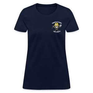 Underground Explorers Navy Women's Logo Tee - Women's T-Shirt