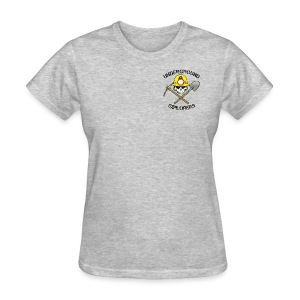 Underground Explorers Heather Grey Women's Logo Tee - Women's T-Shirt