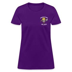 Underground Explorers Purple Women's Logo Tee - Women's T-Shirt