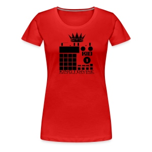 King I Divine Lost Jewelz BLK LOGO - Women's Premium T-Shirt