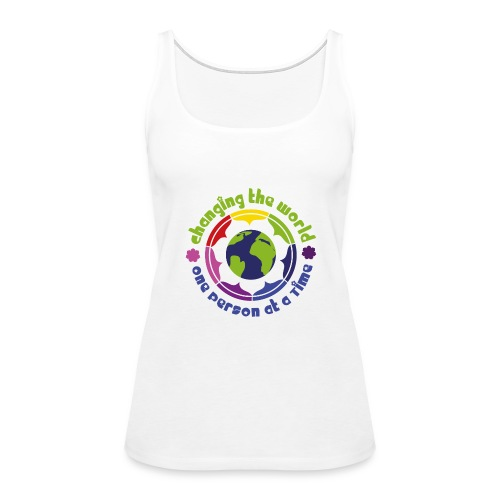 Tank Top Woman 'World' - Women's Premium Tank Top