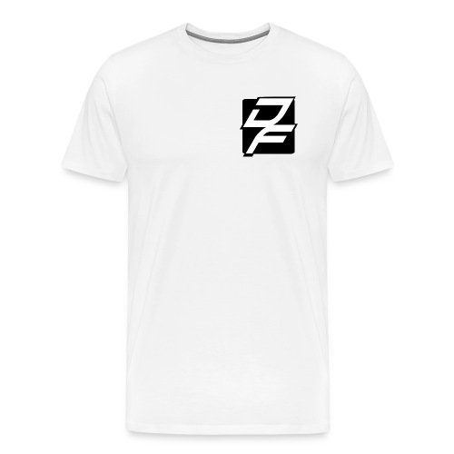 Black and White Symbol Premium Tee - Men's Premium T-Shirt