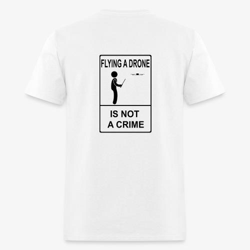 Not A Crime - LDE logo on front - Men's T-Shirt