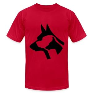 dogs - Men's Fine Jersey T-Shirt
