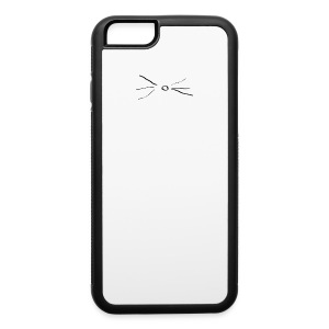 Cat whisker phone case - iPhone 6/6s Rubber Case