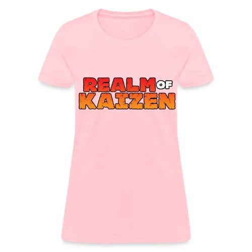 Realm of Kaizen Women's Shirt - Women's T-Shirt