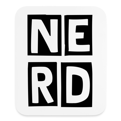 NERD Mouse Pad - Mouse pad Vertical