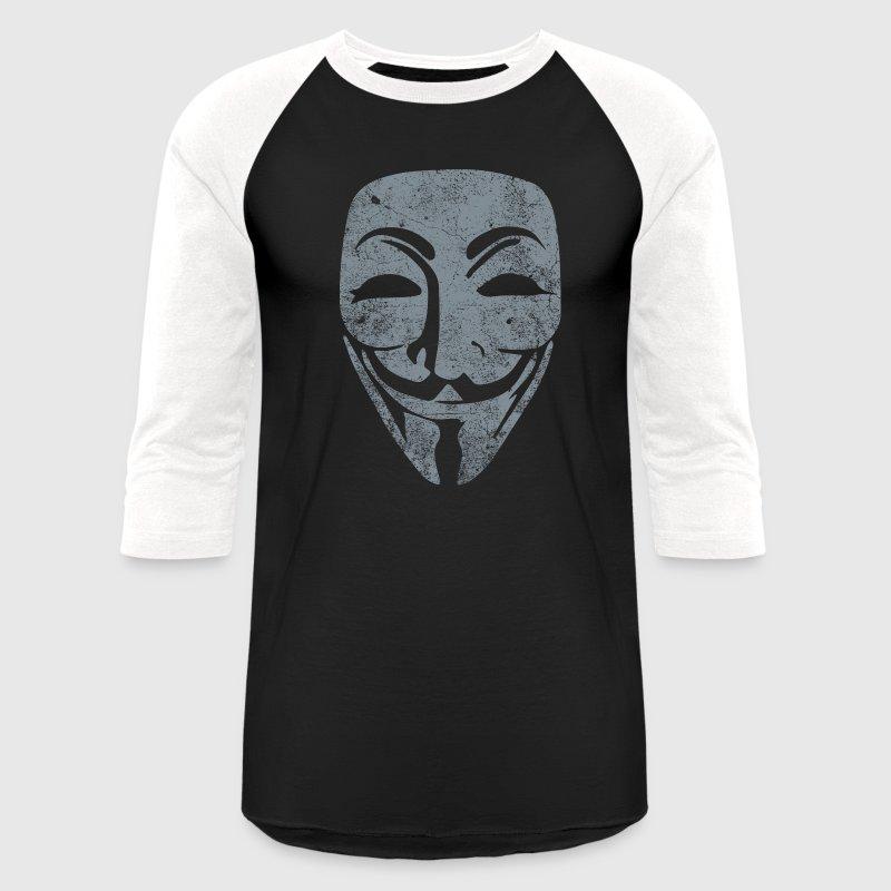 Vendetta Silver Black Raglan Shirt Men S Baseball T Shirt