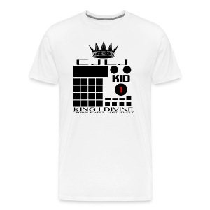 King I Divine Lost Jewelz BLK LOGO - Men's Premium T-Shirt