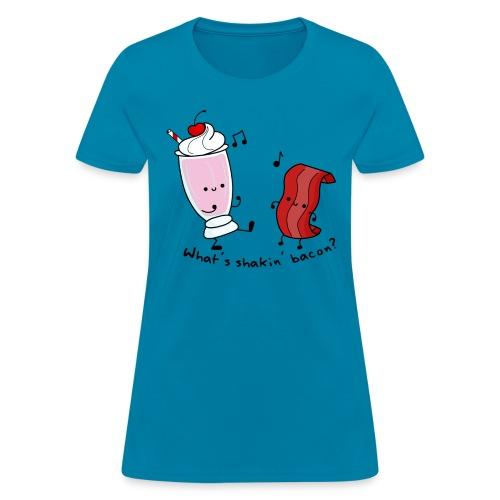 What's Shakin' Bacon? - Women's T-Shirt