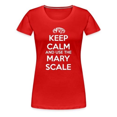 Women's VFTCS Mary Scale! - Women's Premium T-Shirt