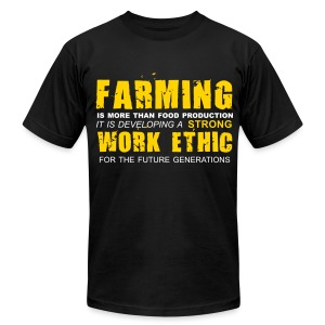 Strong work ethic - Men's T-Shirt by American Apparel