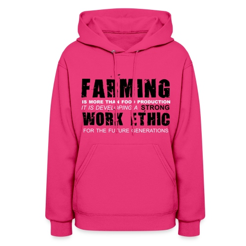 Strong work ethic : Hoodie - Women's Hoodie