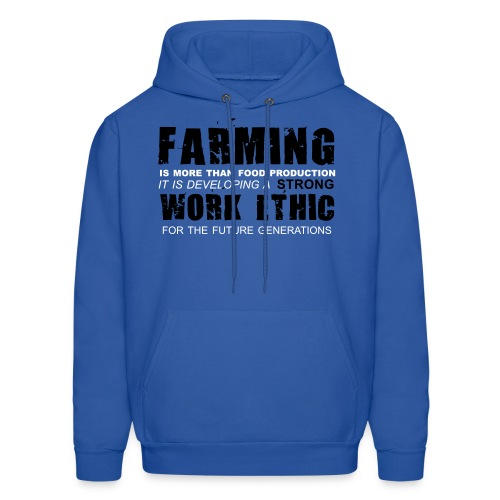 Strong work ethic : Hoodie - Men's Hoodie