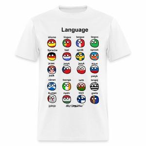 Languages (Atlaans version) - Men's T-Shirt
