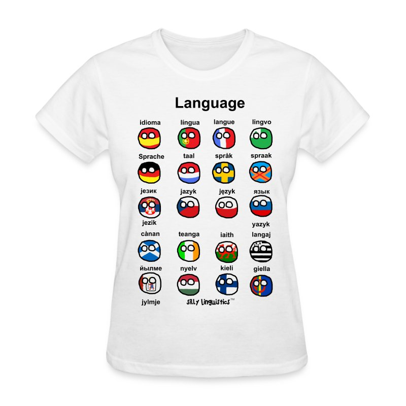 Languages (Atlaans version) - Women's T-Shirt