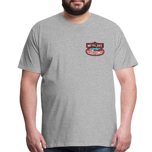 Metal Art Customs FRONT/BACK Premium Shop-Shirt - Men's Premium T-Shirt