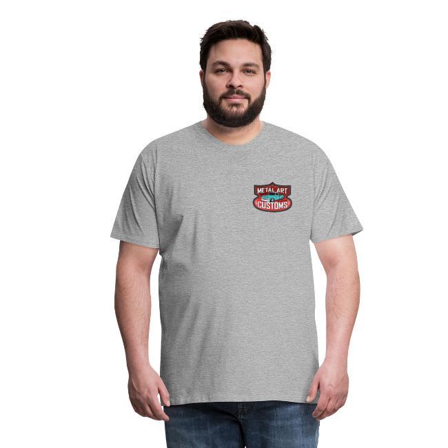 44c86a363 Metal Art Customs FRONT BACK Premium Shop-Shirt