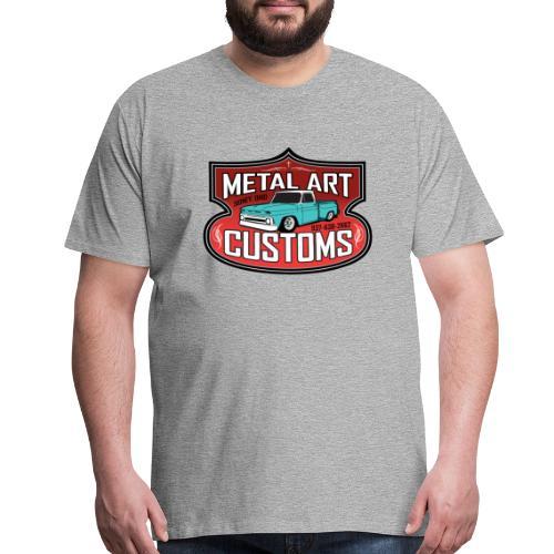 Metal Art Customs FRONT Premium Shop-Shirt - Men's Premium T-Shirt