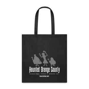 Haunted OC Hitchhikers Black Tote - Tote Bag