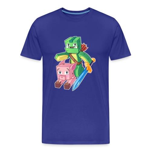 ECKOSOLDIER Mens Short - Men's Premium T-Shirt