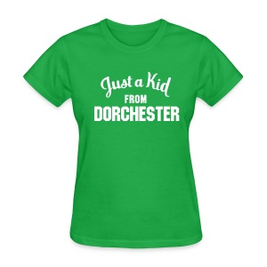 Just a Kid from Dorchester (Women) - Women's T-Shirt