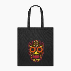 sugar skull day of the dead Bags & backpacks