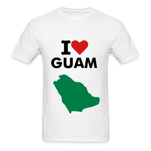 Love is Guam - Men's T-Shirt