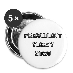 President Yeezy Campaign Button - Small Buttons