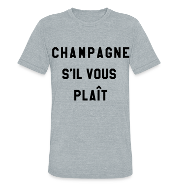 champagne s 39 il vous plait t shirt spreadshirt. Black Bedroom Furniture Sets. Home Design Ideas