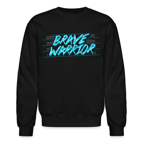 Brave Warrior 90s Pullover Sweater - Crewneck Sweatshirt
