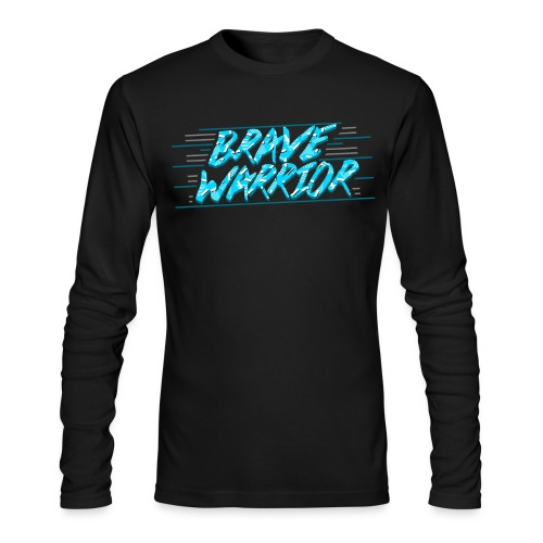 Brave Warrior 90s Long Sleeve Tee - Men's Long Sleeve T-Shirt by Next Level