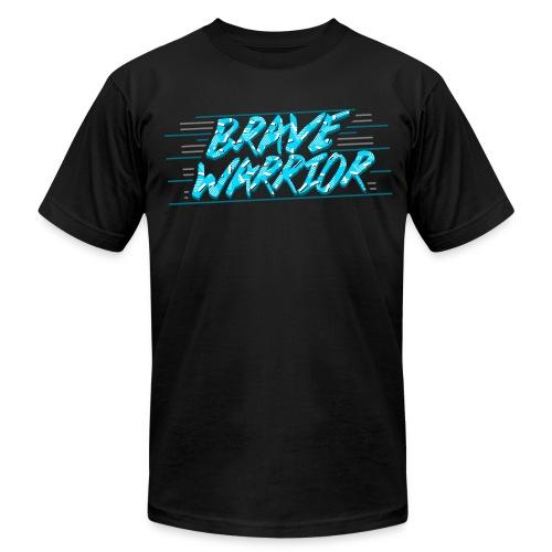 Brave Warrior 90s AA tee - Men's Fine Jersey T-Shirt