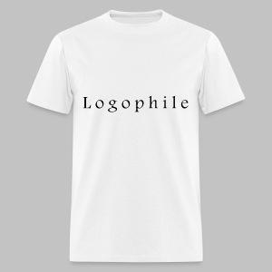 Logophile Men's T-Shirt - White and Black - Men's T-Shirt