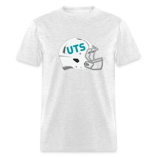 Men's UTS Gridiron Helmet Regular T-shirt - Grey - Men's T-Shirt